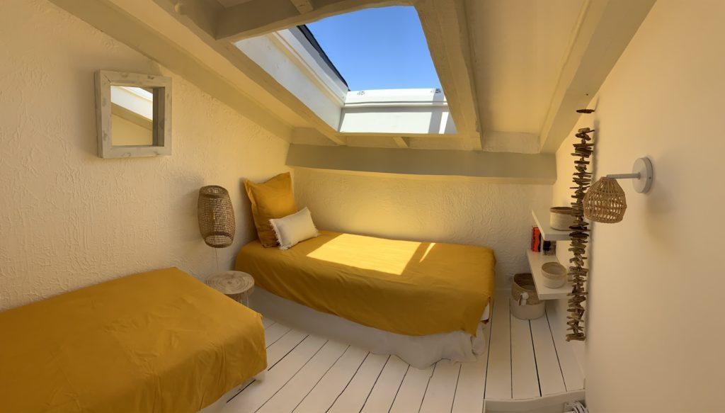 "La chambre ""U Melu"" avec 2 lits simples"