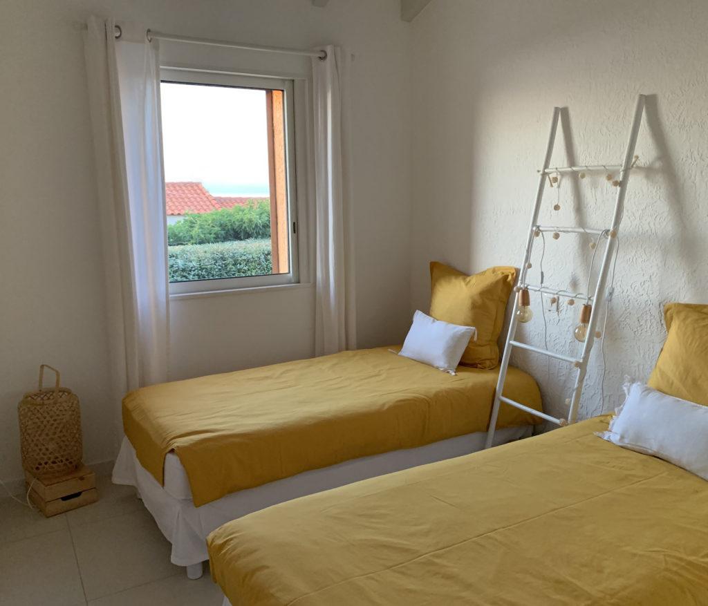 """La chambre """"A Murrada"""", avec 2 lits simples"""